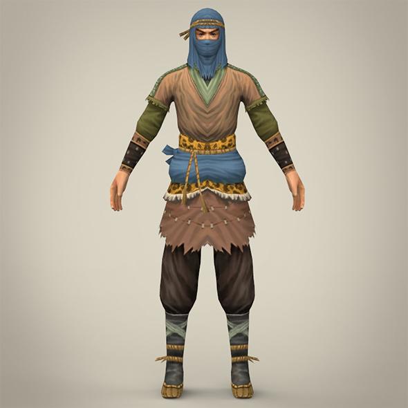3DOcean Ninja Warrior 19033750