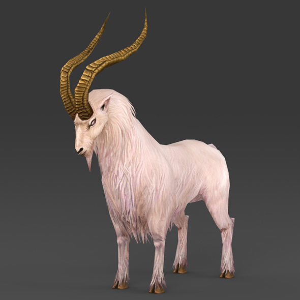Fantasy Goat - 3DOcean Item for Sale