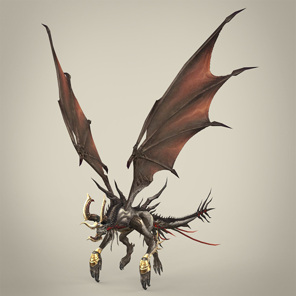 Fantasy Monster Kurkura - 3DOcean Item for Sale