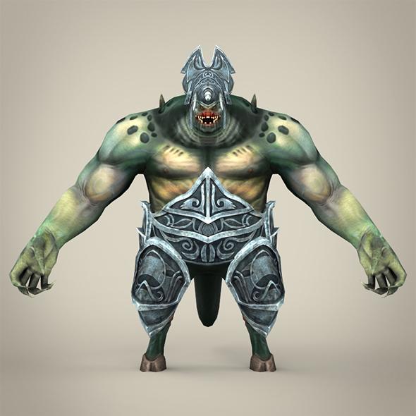 Fantasy Monster - 3DOcean Item for Sale