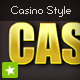 Shiny CASINO gold style text effect - ActiveDen Item for Sale