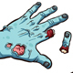 Download Vector Zombie Hands