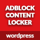 AdBlock Content Locker - Wordpress Plugin