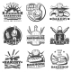 Download Vector Vintage Bakery Emblems Set
