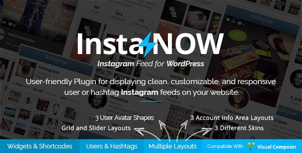 Instagram Feed for WordPress - InstaNOW
