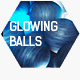Glowing Balls | Abstract Logo Intro