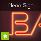 Neon sign light text effect - ActiveDen Item for Sale