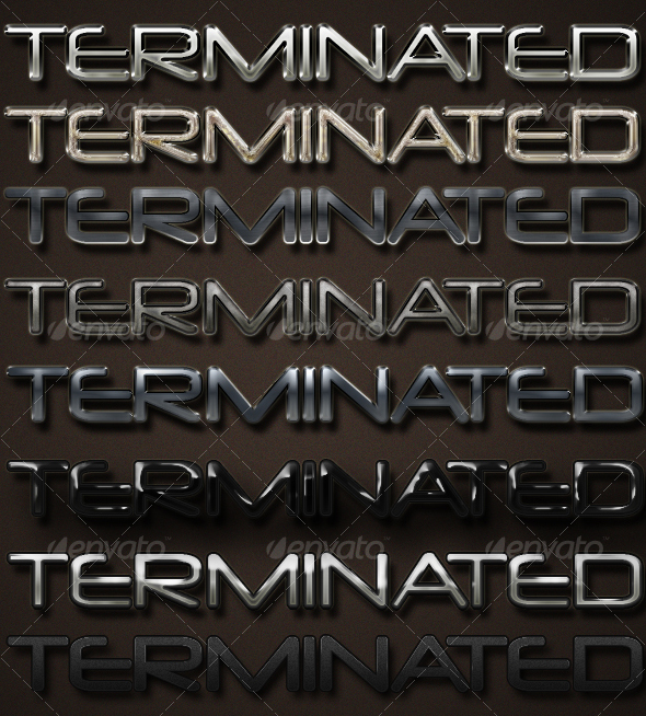 GraphicRiver Heavy Metal Text Effects & Styles 72650