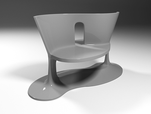 Sided chair - 3DOcean Item for Sale