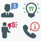 Business Icons - Color Version (Set 3)