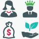 Business Icons - Color Version (Set 4)