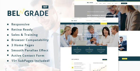 Download Belgrade - Training, Coaching, Consulting & Business WordPress Theme