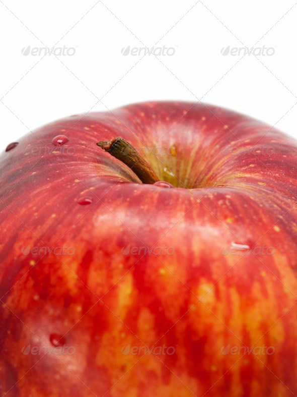 Apple Closeup - Stock Photo - Images