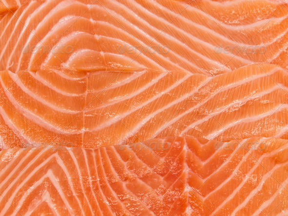 Salmon Background - Stock Photo - Images