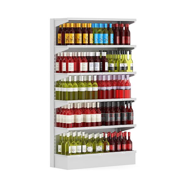 3DOcean Market Shelf Wines 19040994
