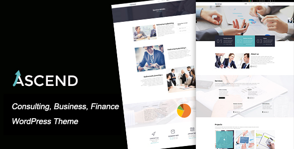 Download Ascend - Consulting & Finance WordPress Theme nulled download
