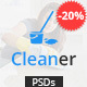 Cleaner - PSD template for Cleaning Services