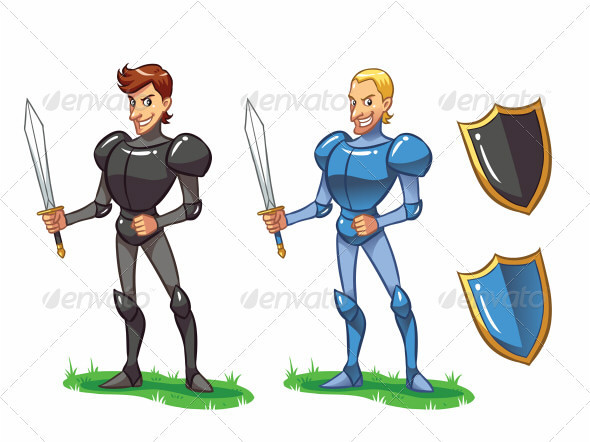Knights - People Characters