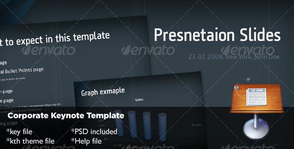 GraphicRiver Corporate Keynote Template 72693