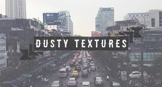 Dusty Overlay Textures