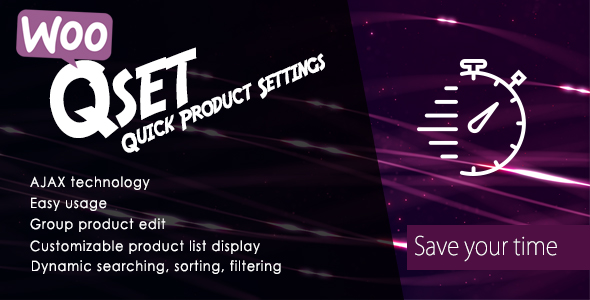 Download Woocommerce Quick Product Settings nulled download
