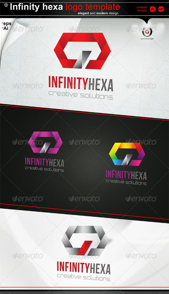 Infinity Hexa logo - Symbols Logo Templates