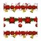 Set of Seamless Christmas Borders