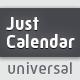 Just Calendar | Universal Generator