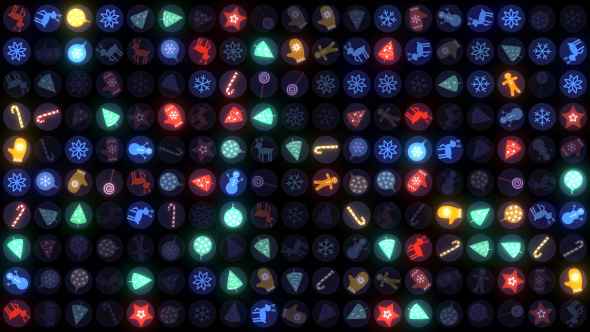 VideoHive New Year Disco Led Wall 19053961