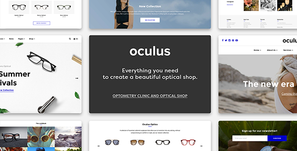 Optical Templates from ThemeForest