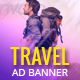 GWD  | Travel Destination HTML Banner 04