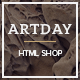 Artday - Creative Shop Template