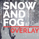 Realistic Snow and Fog essentials Overlays Winter Package in 4K Ultra HD