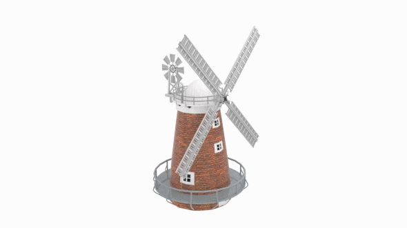 Thaxted Windmill - 3DOcean Item for Sale