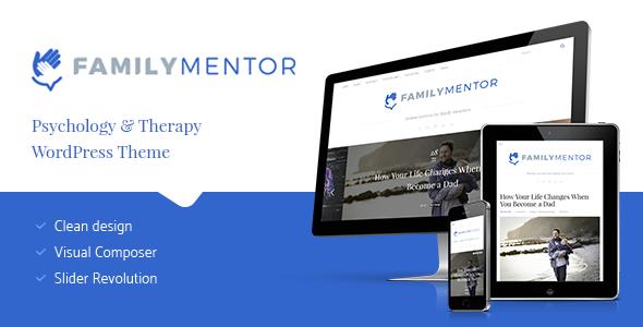Family Mentor - Psychology & Therapy WordPress Theme
