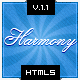 Harmony - Multipurpose HTML5 Template - ThemeForest Item for Sale