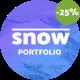 Snow – Minimal Multi-Purpose Portfolio Template