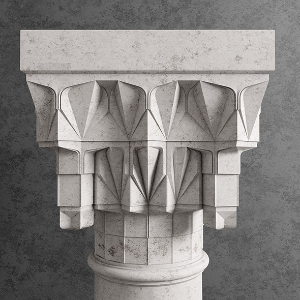 Ottoman column - 3DOcean Item for Sale