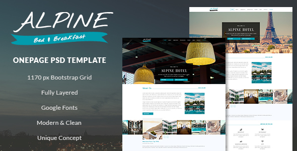 Bed And Breakfast Templates from ThemeForest