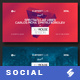 Electronic Music Party vol.7 - Facebook Post Banner Templates