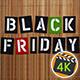 Black Friday Sale On Bamboo Background 2