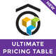 Ultimate Pricing Table - Visual Composer Addon