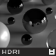 High Resolution Black Apartment HDRi Map 001