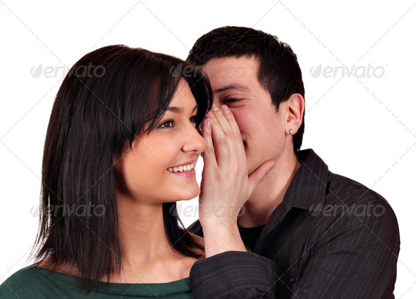 Stock Photo - PhotoDune Sweet whispering 1922471