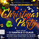 Christmas Party Flyer Template 11
