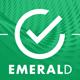 EMERALD a creative portfolio HTML template