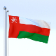 Animated Oman Flag