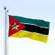 Animated Mozambique Flag