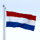 Animated Nederlands Flag