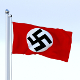 Animated Nazi Germany Flag